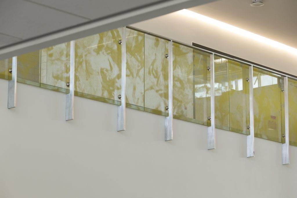 Seneca College Printed Glass