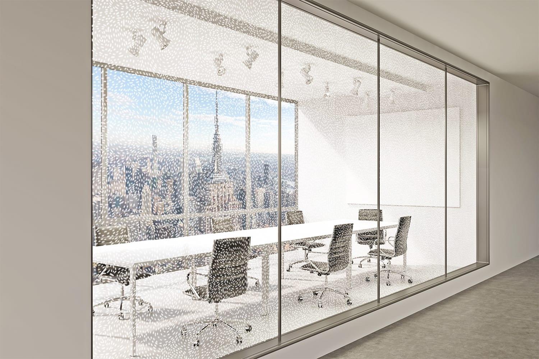 Office Rendering of Speckle Pattern