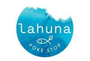 Lahuna Poke Stop Logo