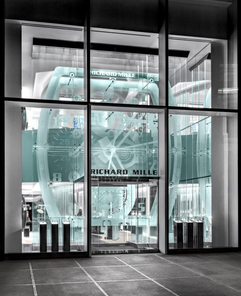 Richard Mille, Glass Store Front New York