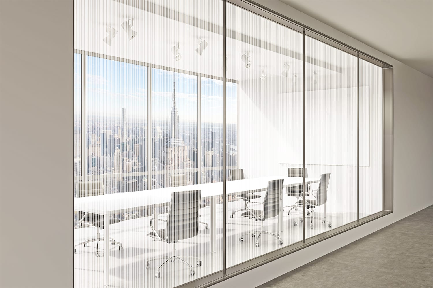 Office Rendering of Linear Overlay