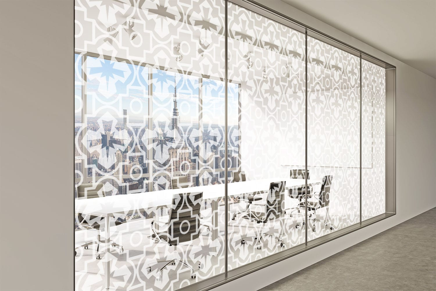 Office Rendering of Moroccan Tile