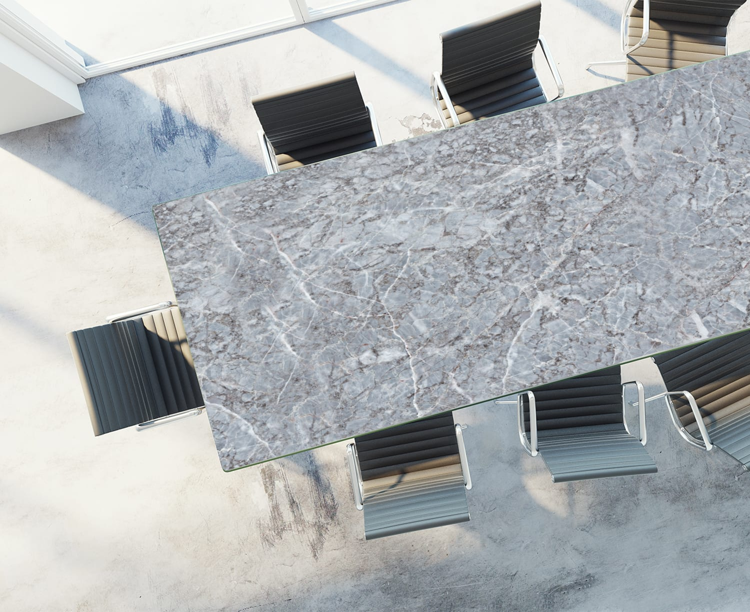 Blue Stone Table Rendering