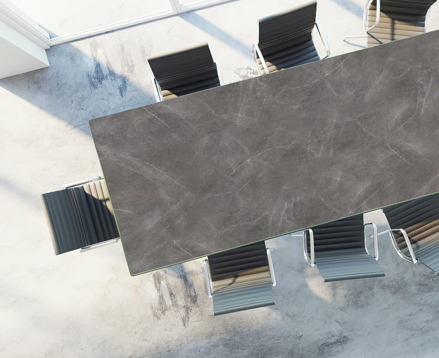 Table Rendering Stone Grey