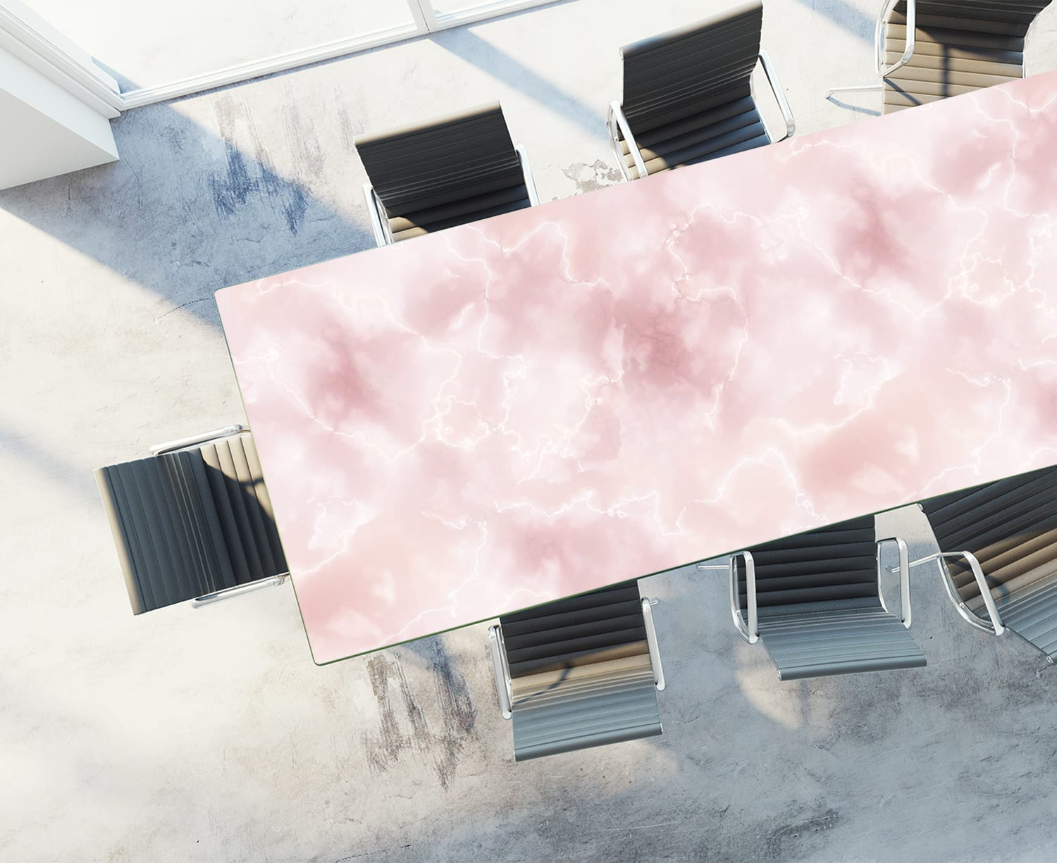 Table Rendering of Pink Onyx