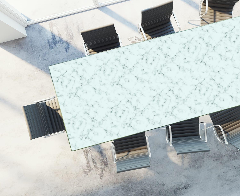 Table Top Rendering of Teal Marble