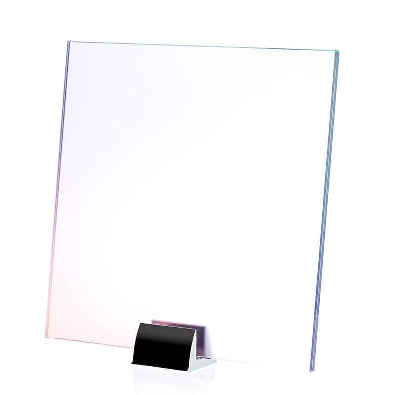0000-ALT Pink Hue Gradient Printed and Laminated Glass