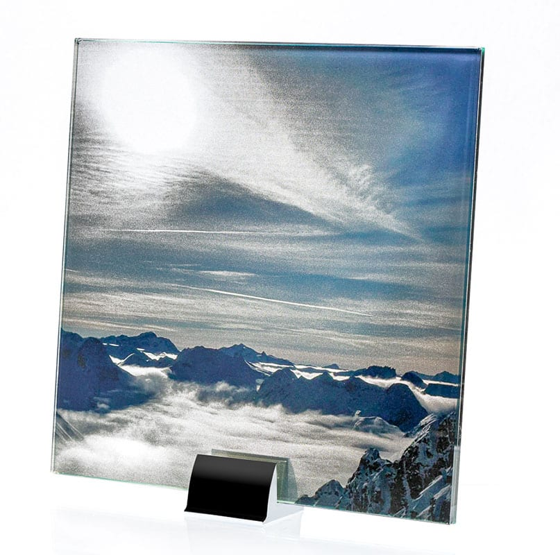 1460-ALT Mountains Printed and Laminated Glass
