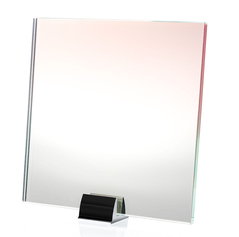 2115-ALT Pink Clear Gradient Printed and Lamianted Mirror