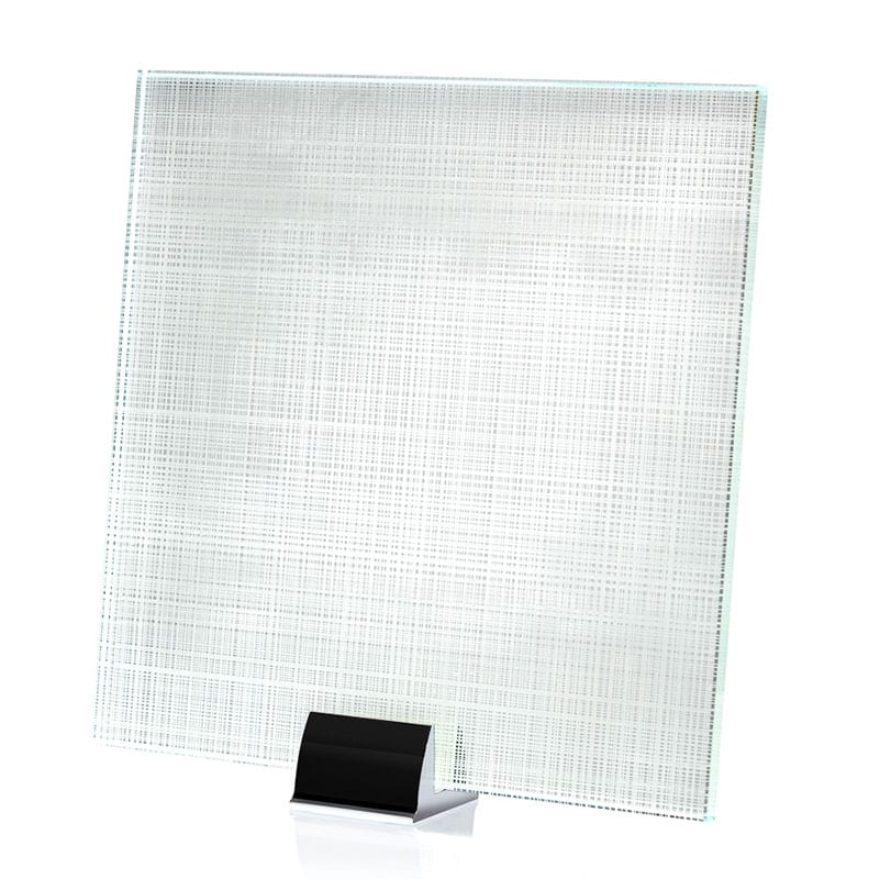 2134-ALT Shimmering Silver Etched and Laminated Mirror