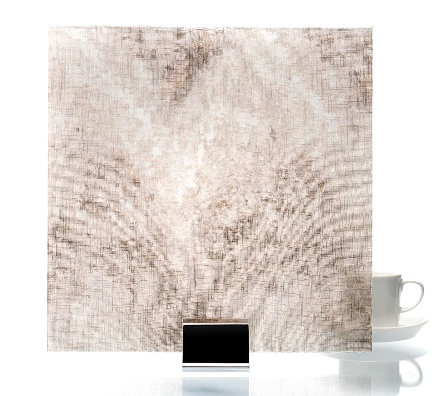 3005-Watercolor Taupe-Fabric Laminated Glass