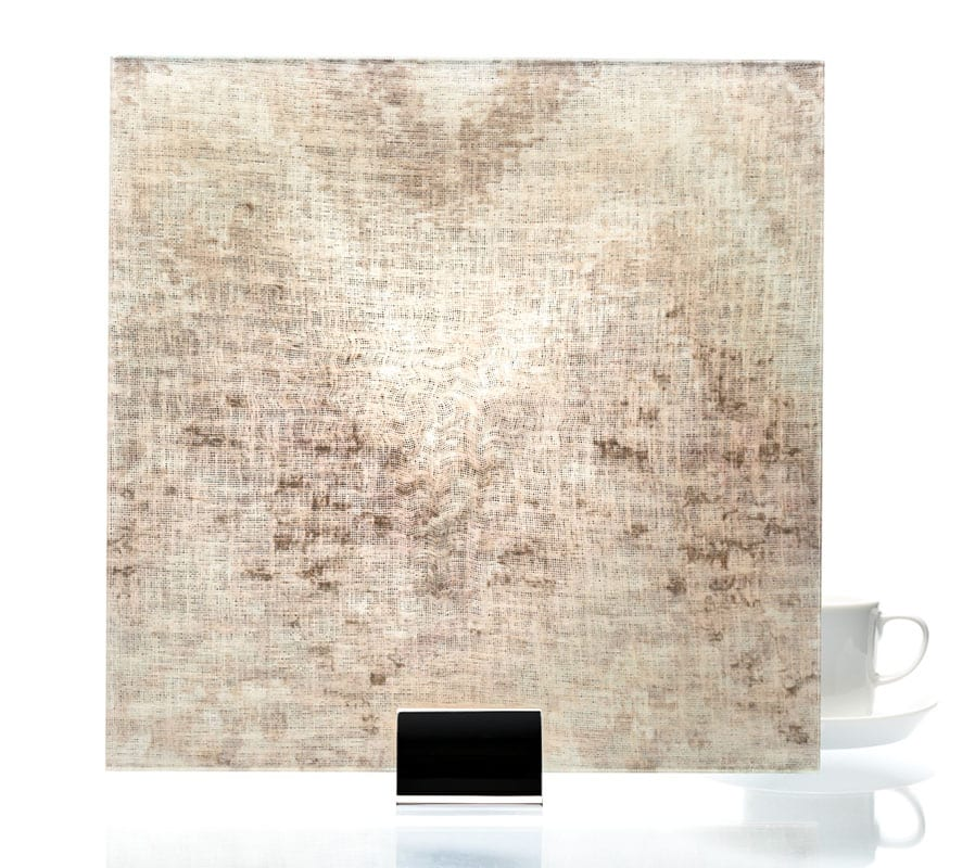 3004-Watercolor Taupe-Fabric Laminated Glass