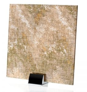 3009-ALT-Satin Watercolor Brown-Fabric Laminated Glass