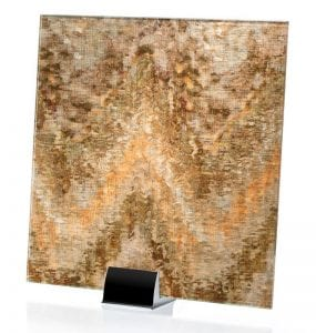 3010-ALT-Watercolor Brown on Mirror-Fabric Laminated Mirror