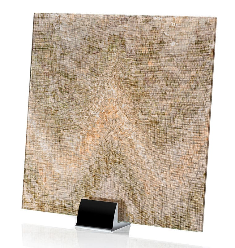 3011-ALT-Watercolor Brown-Fabric Laminated Glass