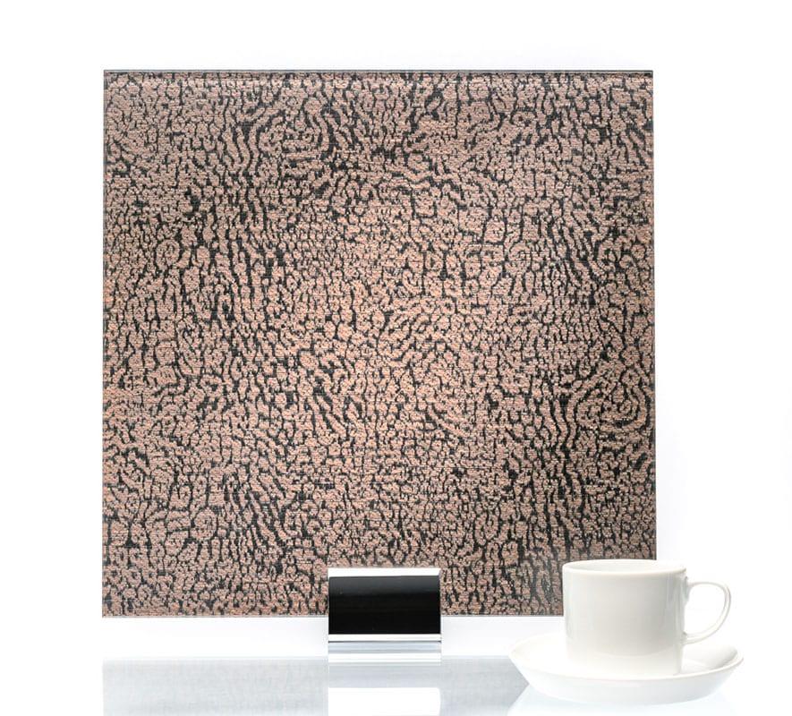 3015-Satin Wishbone Argento-Fabric Laminated Glass