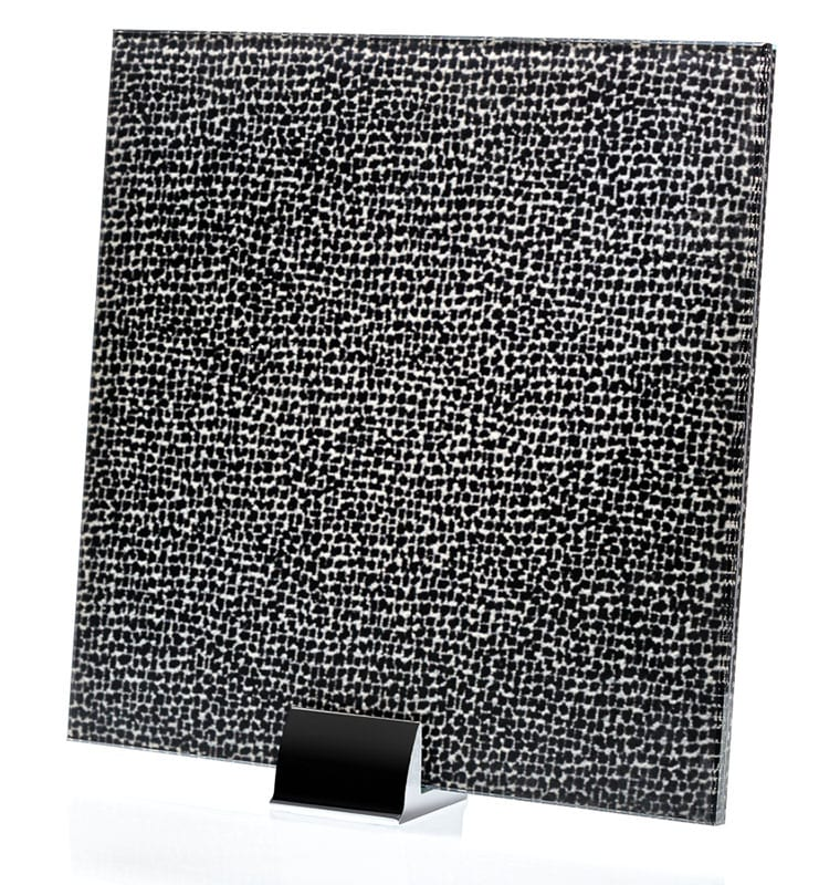 3024-ALT Chenille Notte Fabric Laminated Glass