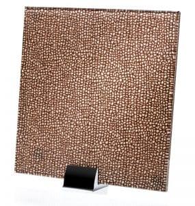 3026-ALT Chenille Ebano Fabric Laminated Glass