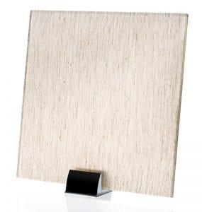 3028-ALT Linen Silver Fabric Laminated Glass