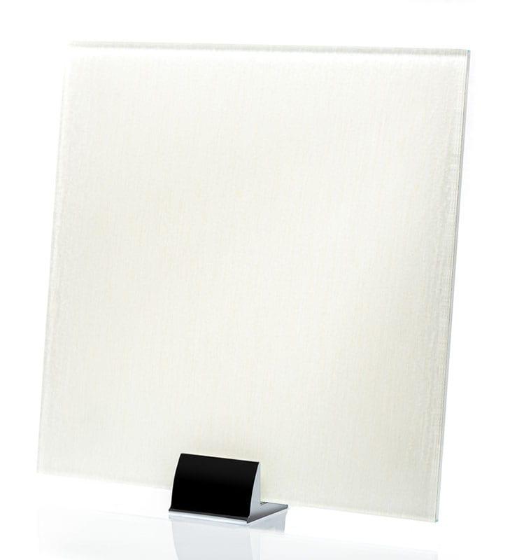 3029-ALT Linen Ivory Fabric Laminated Glass