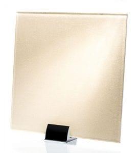 3034-ALT Satin Faux Nuage Fabric Laminated Glass