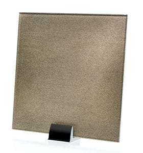 3037-ALT Faux Germain Fabric Laminated Glass
