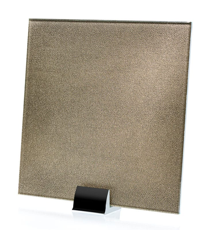 3037-ALT Faux Germain Fabric Laminated Glass