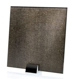 3038-ALT Satin Faux Moderne Fabric Laminated Glass