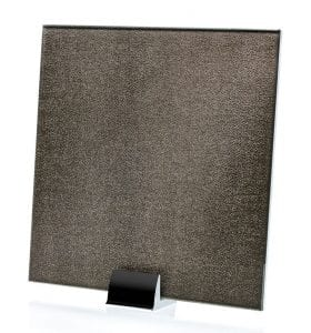 3039-ALT Faux Moderne Fabric Laminated Glass