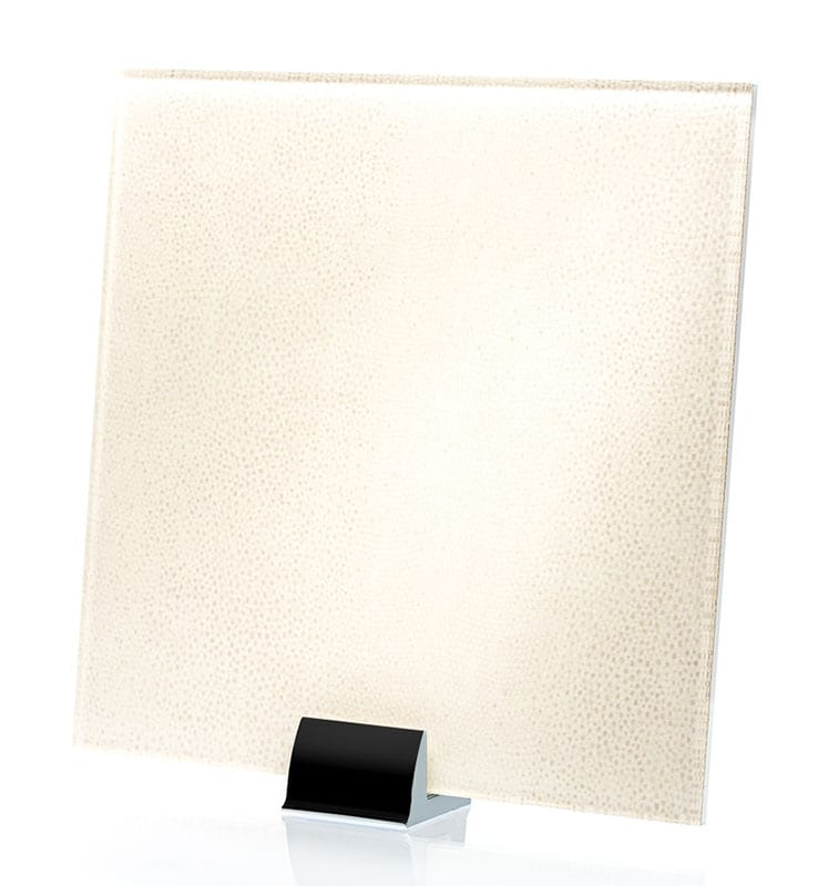 3050-ALT Reptilia Satin Perla Fabric Laminated Glass