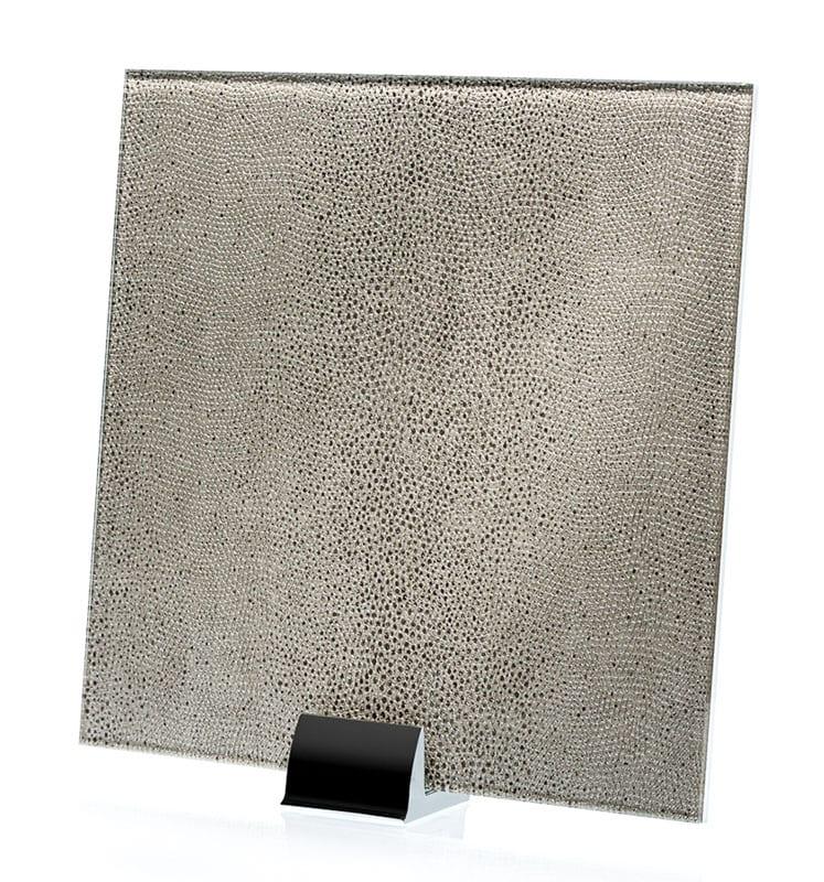 3053-ALT Reptilia Argento Fabric Laminated Glass