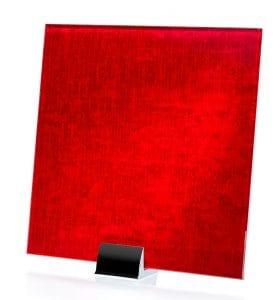 3056 - Velvet Satin Fire Fabric Laminated Glass