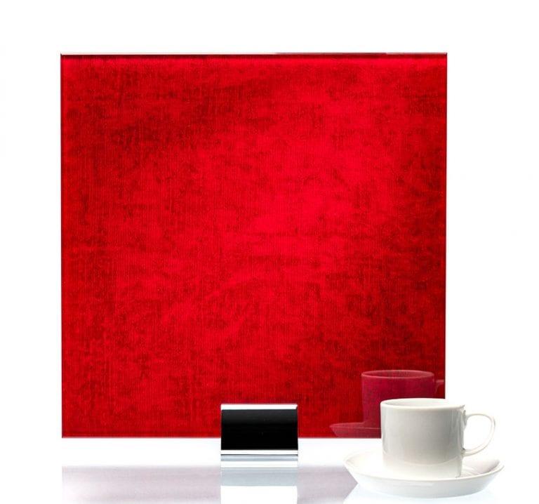 3057-Velvet Fire Fabric Laminated Glass