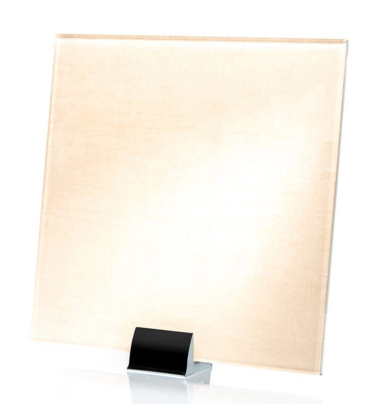 3059-ALT Velvet White Fabric Laminated Glass