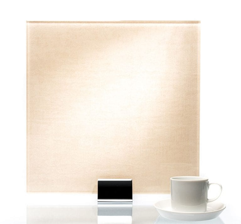3059-Velvet White Fabric Laminated Glass