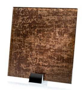 3062-ALT Velvet Satin Taupe Fabric Laminated Glass