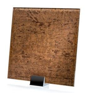 3063-ALT Velvet Taupe Fabric Laminated Glass
