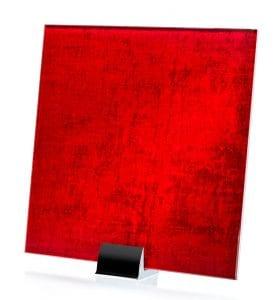 3066-ALT Velvet Satin Crimson | Fabric Laminated Glass