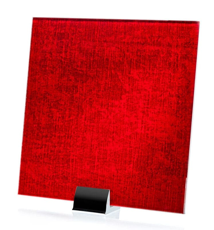 3067-ALT Velvet Crimson Fabric Laminated Glass
