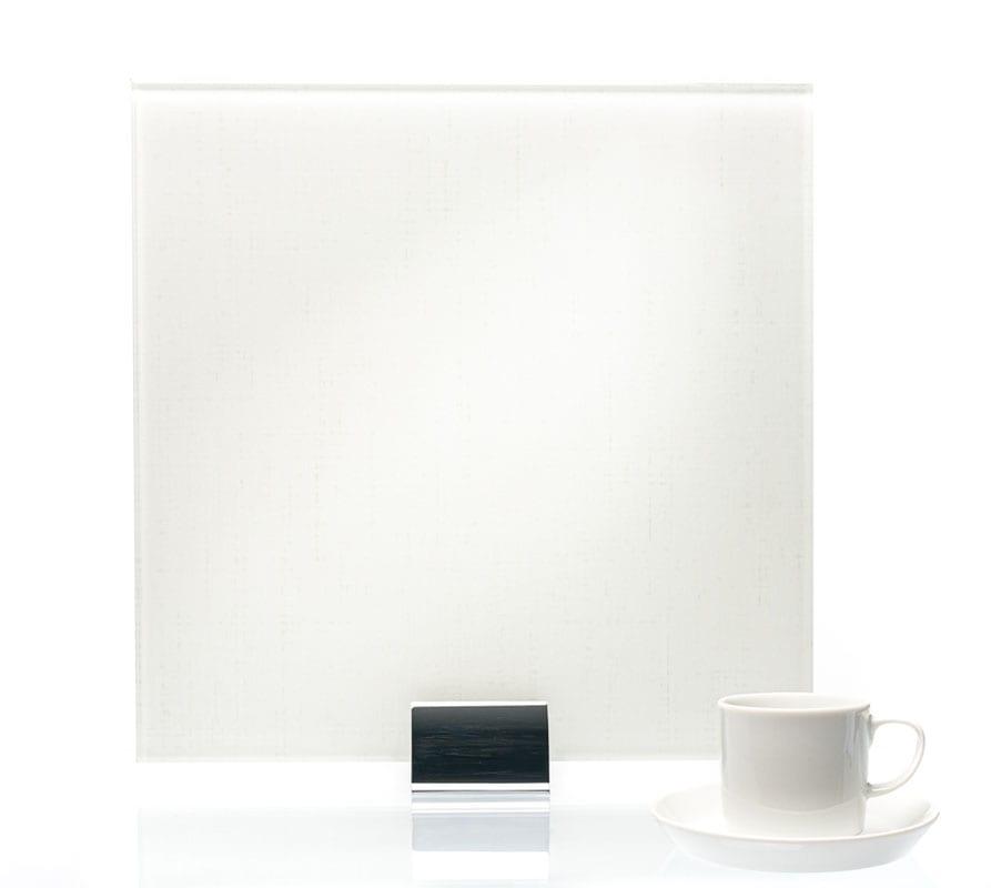 3092 Satin Twill Ice Vinyl Laminated Glass