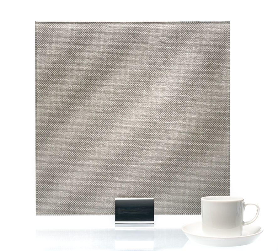3098-Tweed Satin Castle Vinyl Laminated Glass