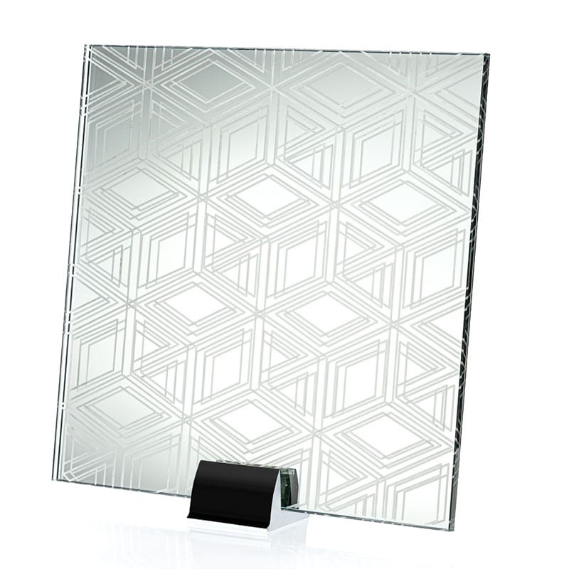 3301-ALT Building Block Etched and Laminated Mirror