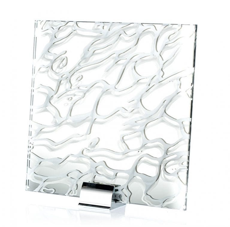 IM 3309-Wave Etched Laminated and Printed Mirror