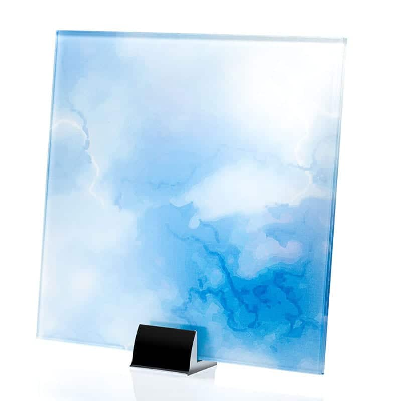 3312-ALT Onice Blu Printed and Laminated Glass
