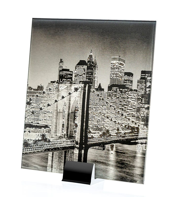 0000-ALT NYC Skyline Printed and Lamianted Mirror