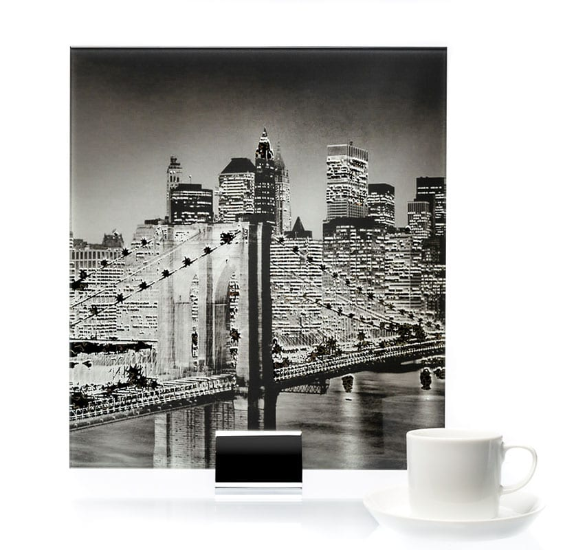 0000 - NYC Skyline Printed and Lamianted Mirror